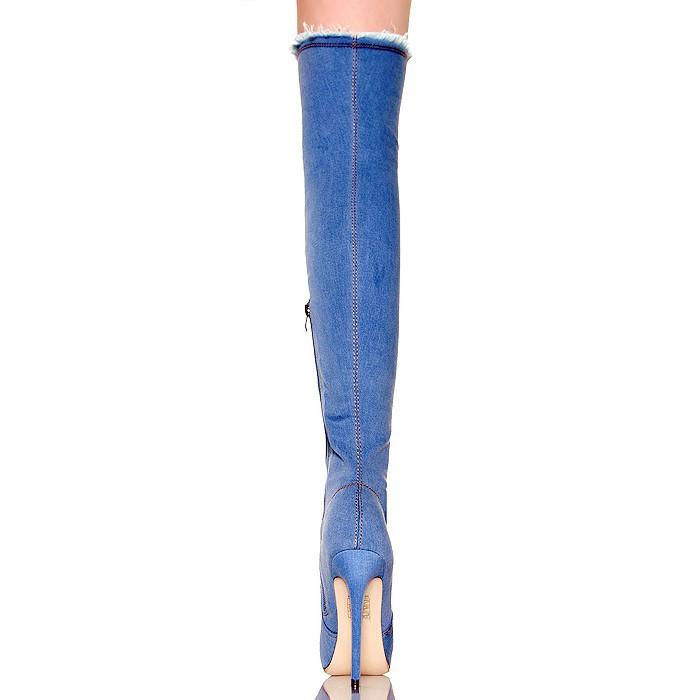 Nie Muszkieterki Sexy Ciemne Jeansowe Przecierane Wwwbuupl
