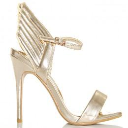 Sandały - Idealne Złote - Gold Skrzydła