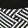 Sandały - Czarne Kobiecość Na Białej Koturnie