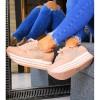 Trampki Różowe Adidasy Ażurowe Wstawki 7427