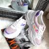 Trampki Białe Adidasy Holograficze Wstawki 8173