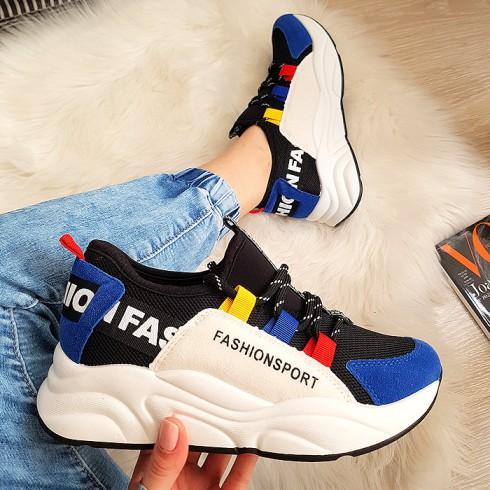 Trampki Kolorowe Wciągane Adidasy 8207