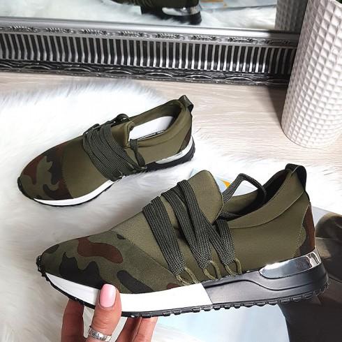 nie - Trampki Designerksie Moro Adidasy 8246