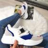 Tramki Niebiesko Białe Adidasy 8387