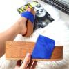 Klapki Royal Blue Zamszowe Wysokie 8399