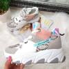 Trampki Kolorowe Podwyższane Adidasy 8444