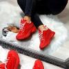 Trampki Czerwone Lakierowane Adidasy 8462
