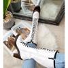 Kozaki Białe Sznurowane Martensy Na Słupku 8452