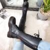 Kozaki Czarne Długie Martensy 8475
