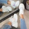 Trampki Białe Siateczkowe Adidasy 8682