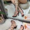 Sandały Wysokie Biżuteryjne Gladiatorki 8325