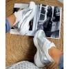Trampki Biało Srebrne Adidasy Wężowy Print 8887