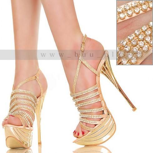 NIE - HOT Glamour - Złoty Kryształowy Blask