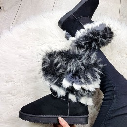 Botki Ocieplane Czarne Emu Futerko 9157