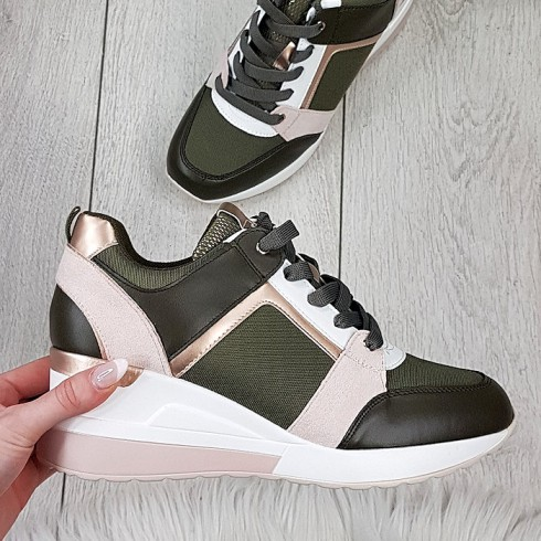 Trampki Eko Kolorowe Adidasy - Patchwork 9240