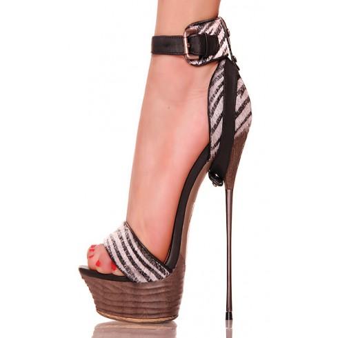 nie - Zgrabne - Mega Wysokie - Kuszące sandały