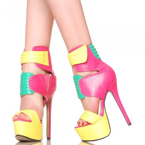 nie - Sandały - Fantastyczne Kolorowe Unikatowe