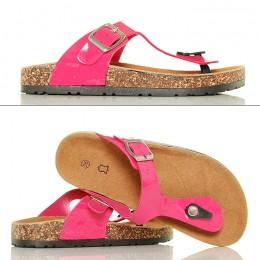 Różowe Klapki Japonki - Pink Slippers
