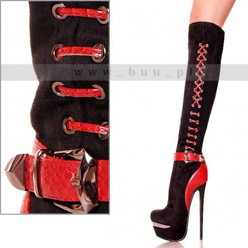nie - Kozaki - Diabelsko Kobiece - Czerwone Wstawki